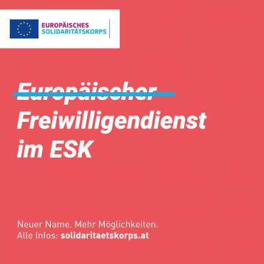 ESK-Webinar zu Freiwilligenprojekten am 05.10.2018