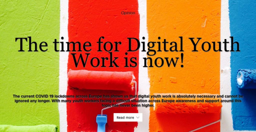 Die Zeit für digitale Jugendarbeit ist jetzt