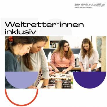 """Webinar-Mitschnitt """"Weltretter*innen inklusiv"""""""