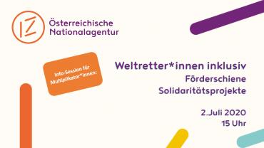 """Webinaraufzeichnung """"Weltretter*innen inklusiv"""""""