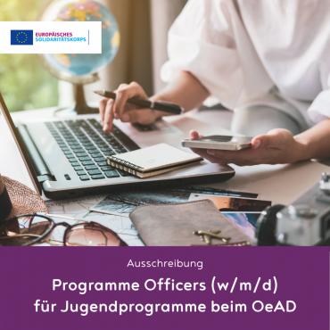 Ausschreibung: EU-Programmofficer*in (w/m/d) in neuer Nationalagentur