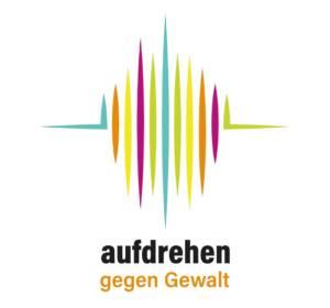 Logo - Aufdrehen gegen Gewalt