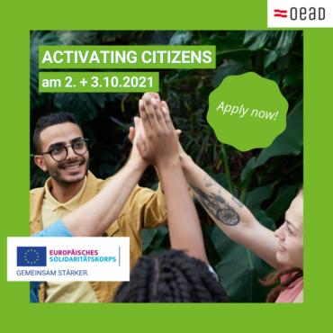Kostenloses Online-Seminar: Aktive Bürgerinnen und Bürger – Wie können Kommunen das ESK-Programm nutzen?